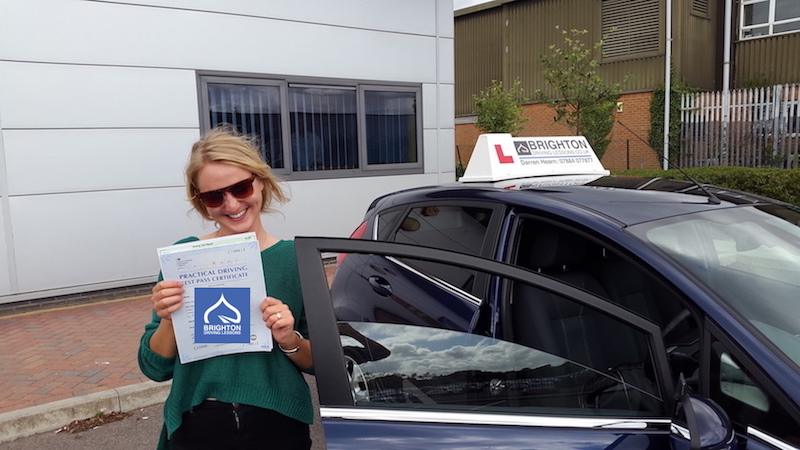 Anna passes driving test with Brighton Driving Lessons