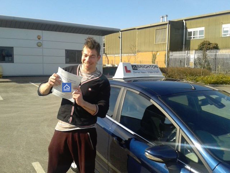 Kevin passes driving test with Brighton Driving Lessons