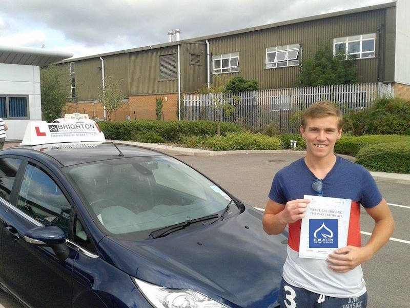 Levi passes driving test with Brighton Driving Lessons