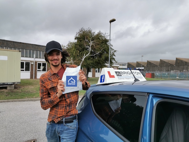 Matt passes driving test with Brighton Driving Lessons