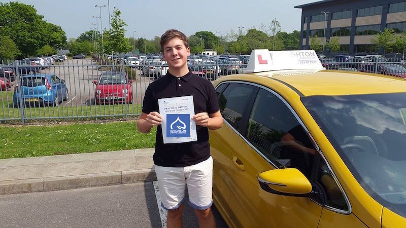 Max passes driving test with Brighton Driving Lessons