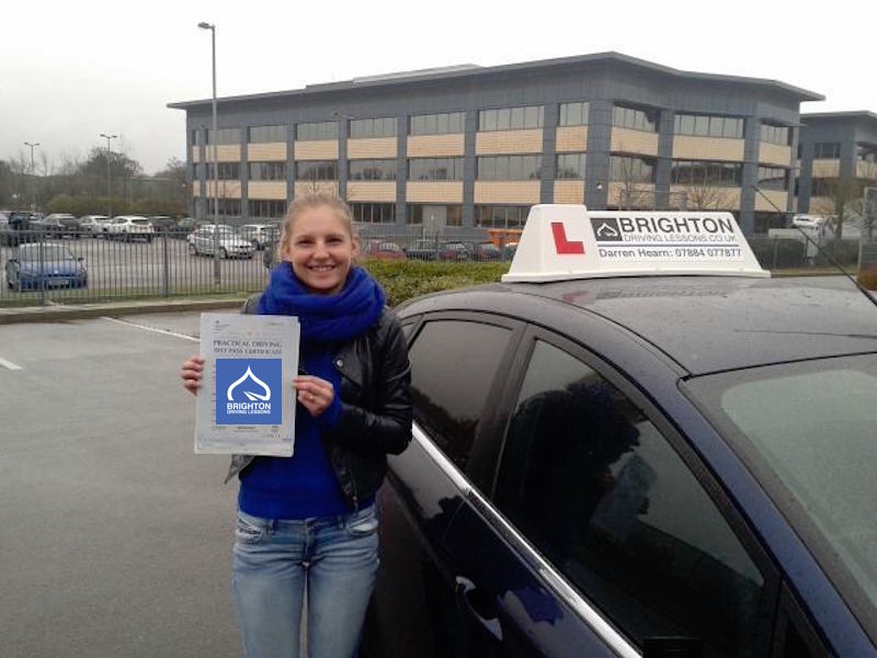 Santa passes driving test with Brighton Driving Lessons