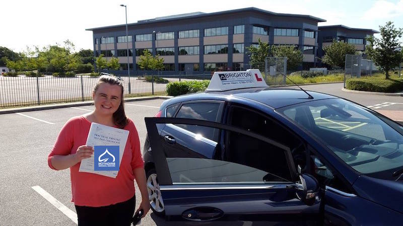 Siobhan passes driving test with Brighton Driving Lessons