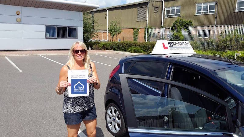 Stacey passes driving test with Brighton Driving Lessons