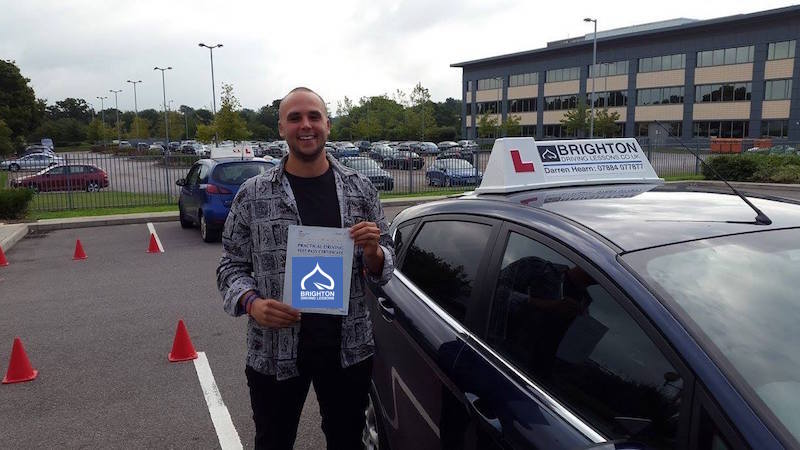 Tom passes driving test with Brighton Driving Lessons