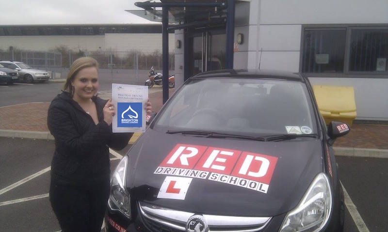 Katherine passes driving test with Brighton Driving Lessons